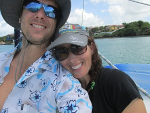 Happy travelers on last year's Christmas trip to Grenada