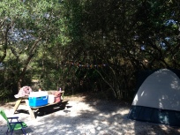 Camping in Grayton Beach State Park