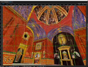 Virtual set for Jean-Jacques Gaudel's steam punk-infused movie