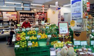 Hooray for fresh Italian veggies!