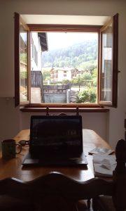 My new office in Vattaro