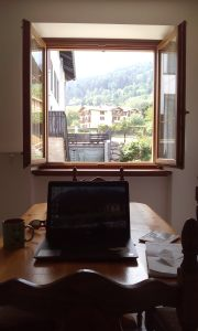 My new office in Vattaro